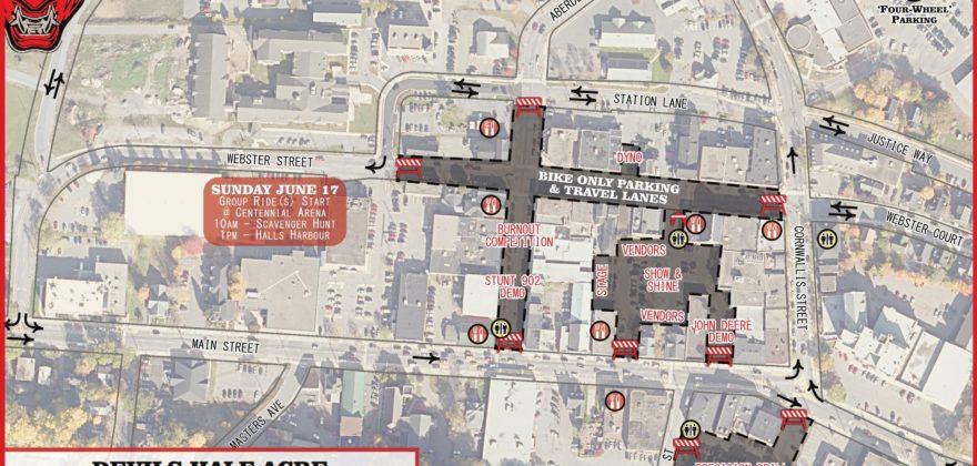Devils Half Acre Traffic Map